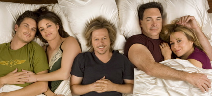 Rules Of Engagement Cast Photo