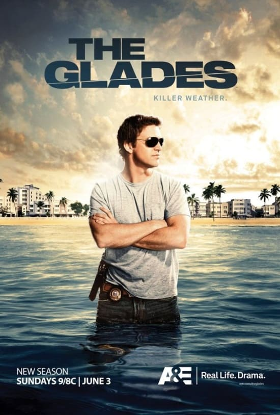 The Glades Season 3 Poster
