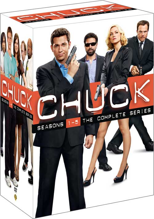 Chuck Complete Series DVD