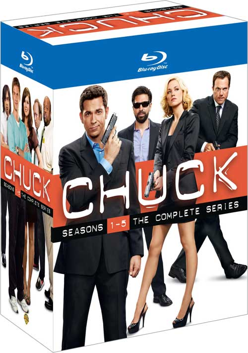 Chuck Complete Series Bluray