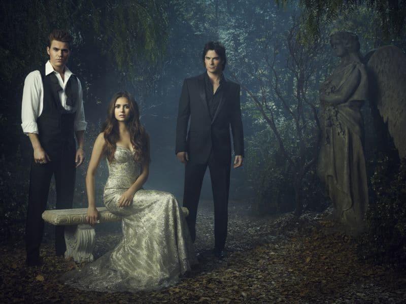 THE VAMPIRE DIARIES Season 4 Cast