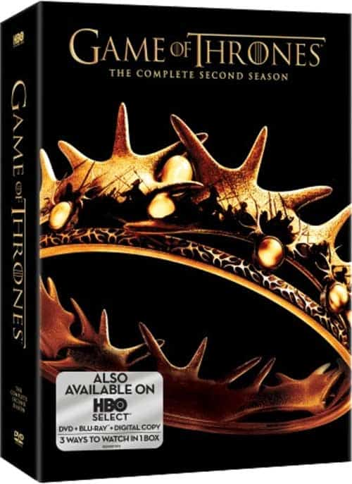 Game Of Thrones Season 2 DVD