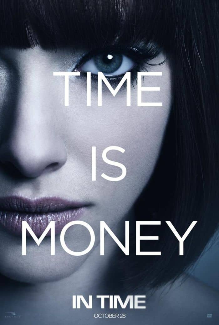 IN TIME Movie Poster Amanda Seyfried
