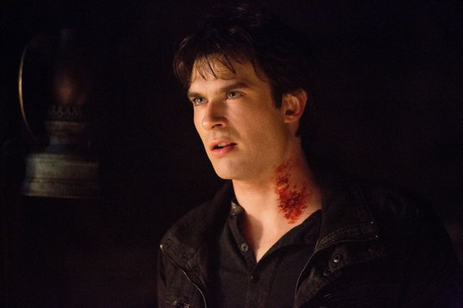 Ian Somerhalder as Damon The Vampire Diaries