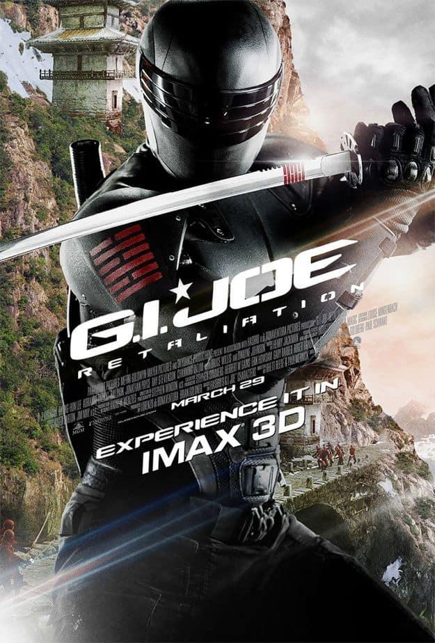 GI JOE: RETALIATION IMAX Poster