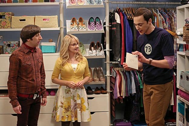 Simon Helberg, Melissa Rauch and Jim Parsons