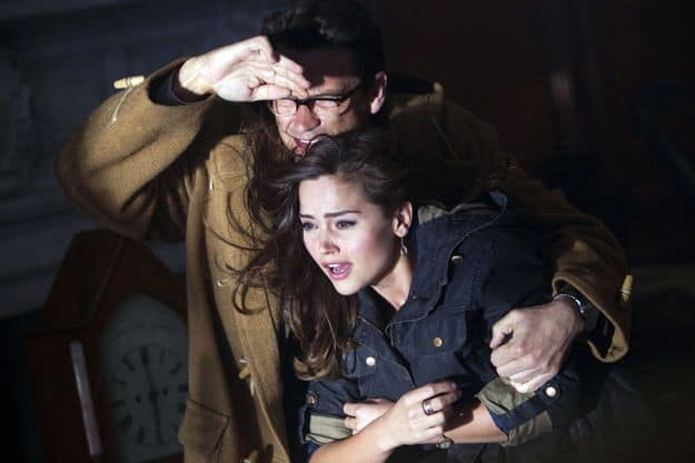 Doctor Who, Season 7.2, Episode 4, Alec Palmer (Dougray Scott) and Clara (Jenna-Louise Coleman)