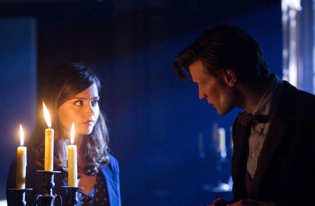 Doctor Who, Season 7.2, Episode 4, Clara (Jenna-Louise Coleman) and the Doctor (Matt Smith)