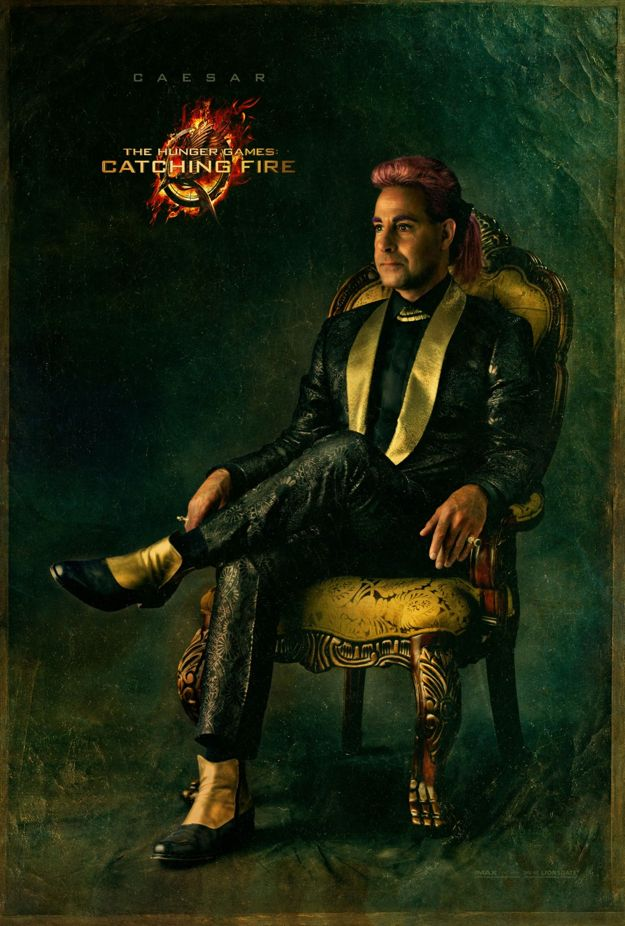 The Hunger Games Catching Fire Caesar Character Poster