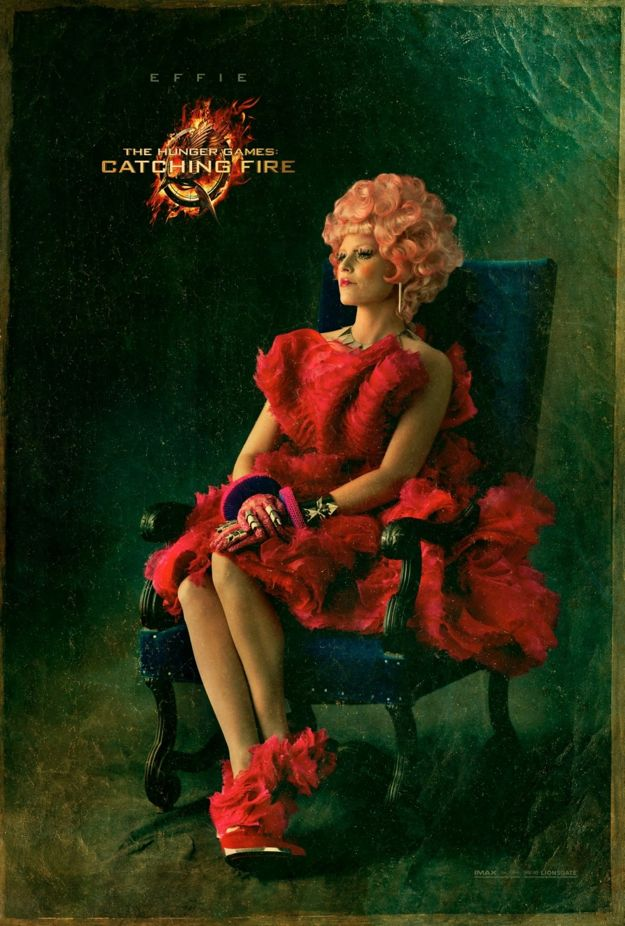 THE HUNGER GAMES CATCHING FIRE Effie Character Poster
