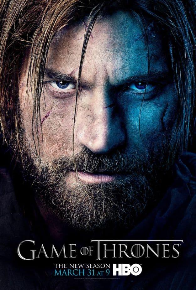 Jaime Lannister Game Of Thrones Season 3 Poster
