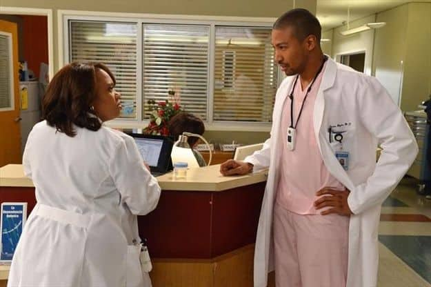"CHANDRA WILSON, CHARLES MICHAEL DAVIS GREY'S ANATOMY - ""Idle Hands"""