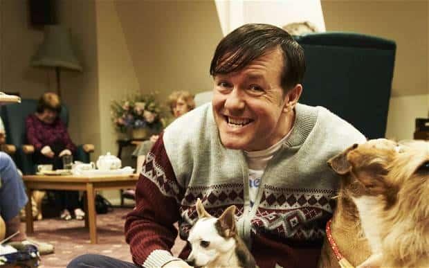 Ricky Gervais Derek Netflix