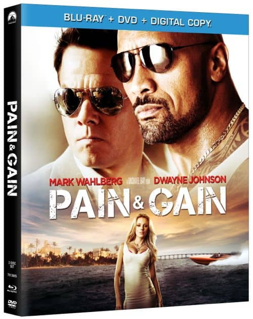 Pain And Gain Bluray Cover