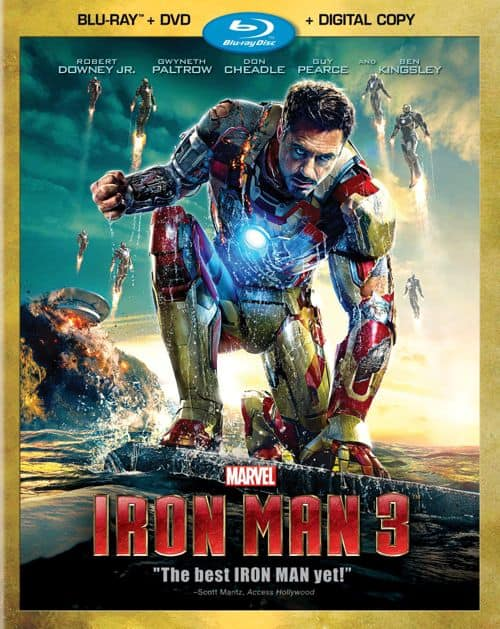 Iron Man 3 DVD Bluray