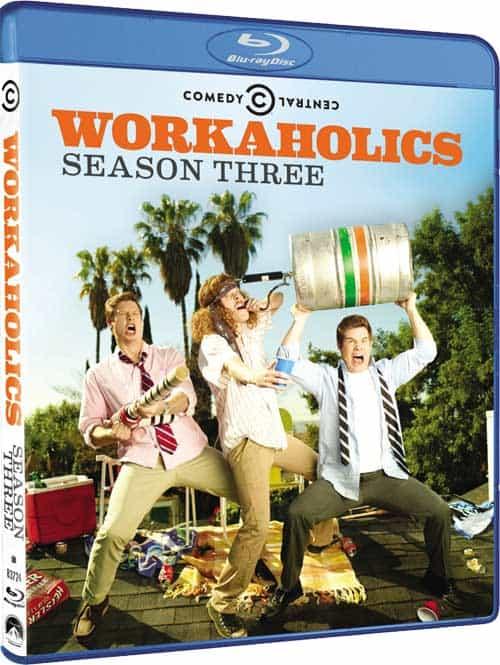 Workaholics Season 3 Bluray
