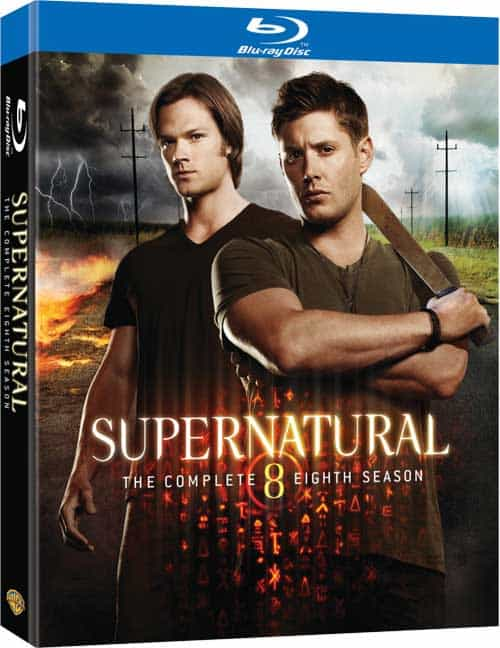 SUPERNATURAL Season 8 BLURAY