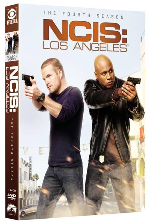 NCIS Los Angeles Season 4 DVD