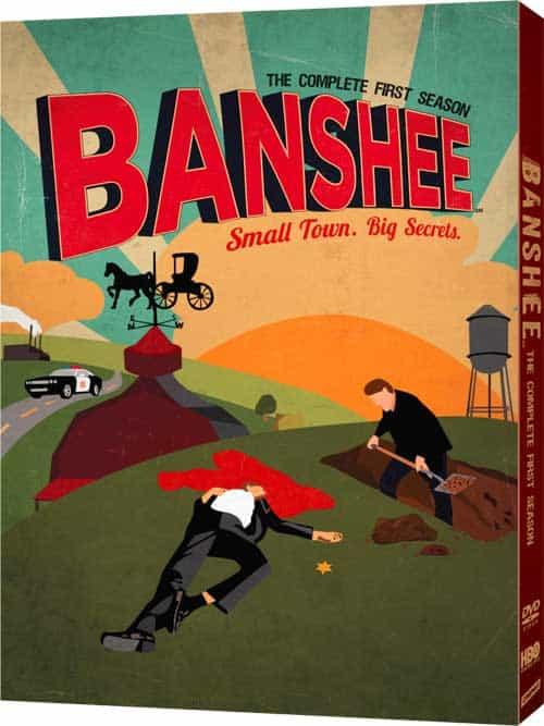 Banshee Season 1 DVD