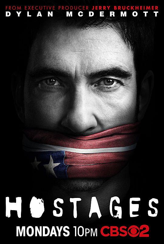 HOSTAGES Dylan McDermott Poster