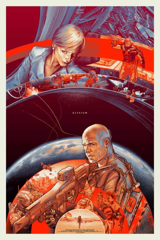 ELYSIUM Mondo Comic Con Poster