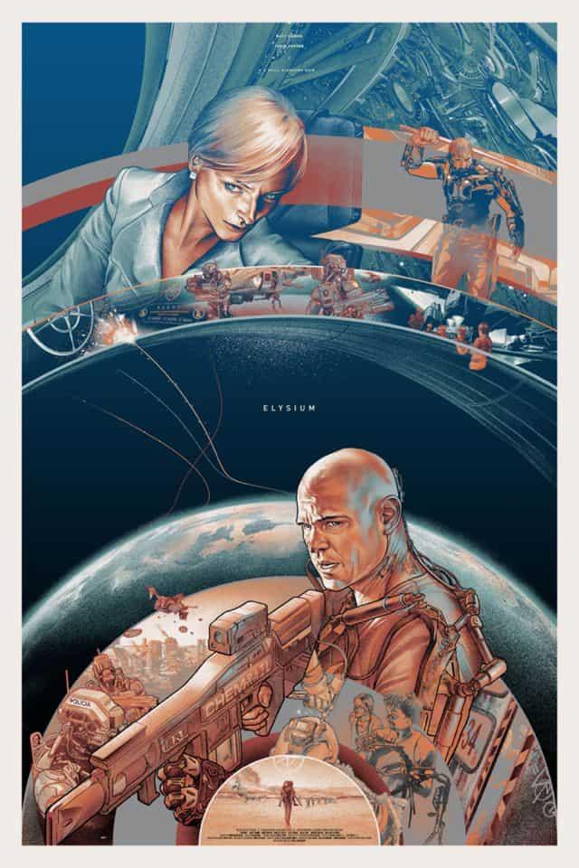 Mondo Elysium Poster Variant