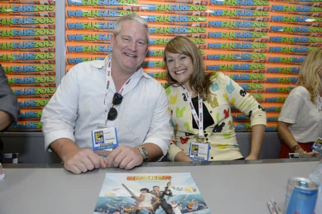 Adam Reed, Amber Nash Archer Comic Con