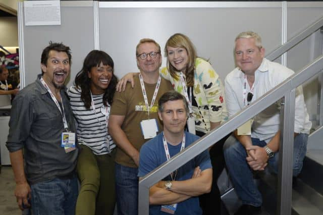 Lucky Yates, Aisha Tyler, Matt Thompson, Chris Parnell, Amber Nash, Adam Reed Archer Comic Con