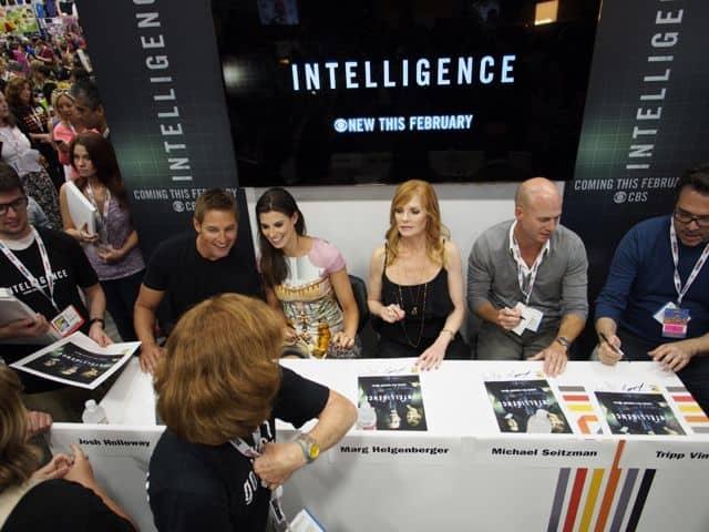 INTELLIGENCE Cast Josh Holloway, Meghan Ory, Marg Helgenberger, Tripp Vinson and Michael Seitzman