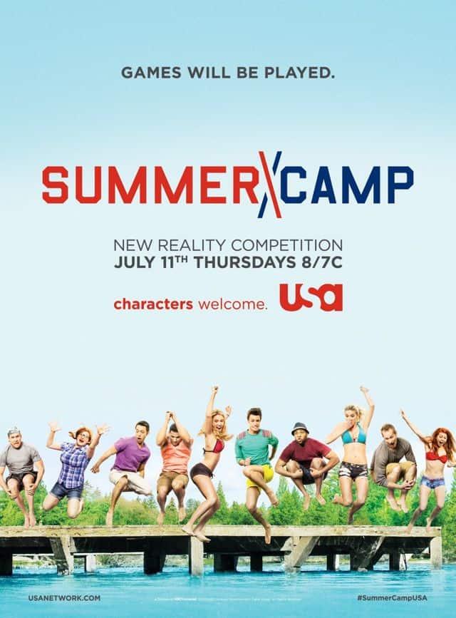 Summer Camp USA Network Poster
