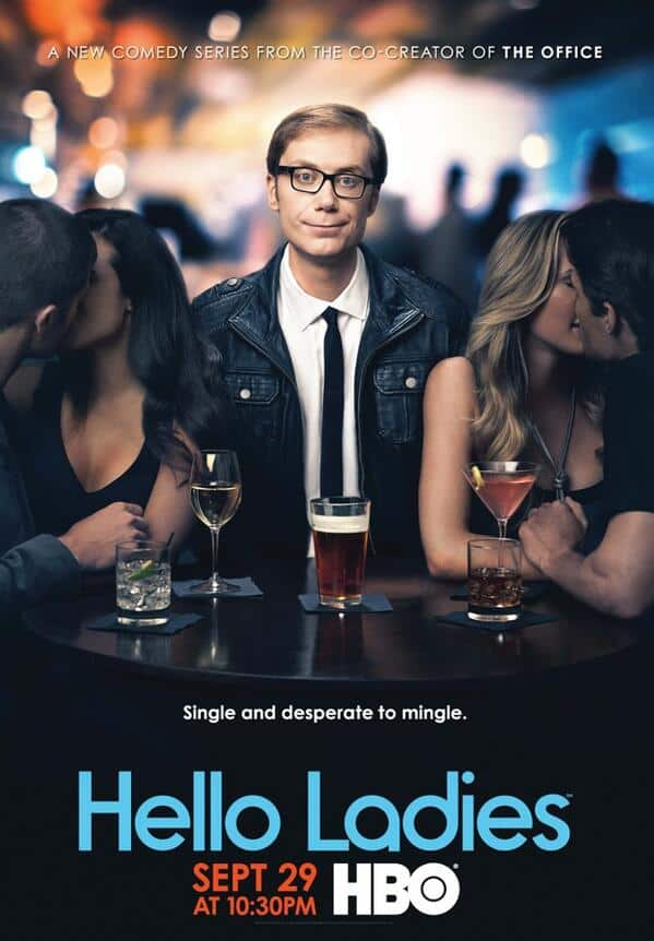 Hello Ladies HBO Poster Stephen Merchant