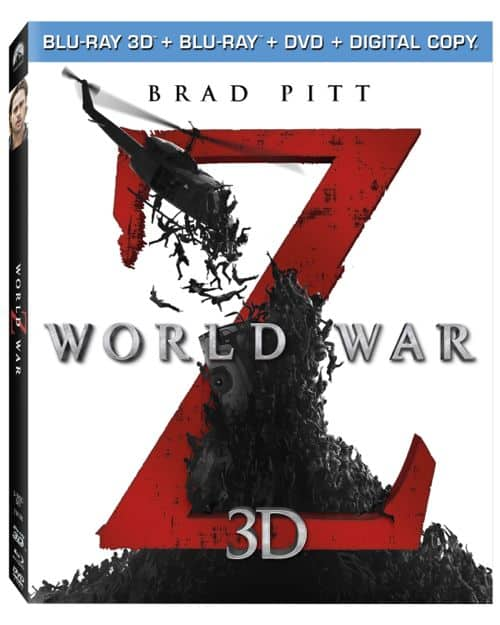 World War Z 3D Bluray