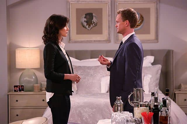 Robin (Cobie Smulders), Barney (Neil Patrick Harris) The Poker Game How I Met Your Mother