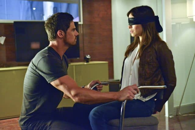 """Beauty and the Beast """"Kidnapped"""" Jay Ryan as Vincent and Kristin Kreuk as Catherine"""