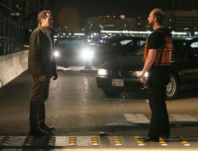 Demian Bichir as Marco Ruiz, Eric Lange as Kenneth Hastings The Bridge