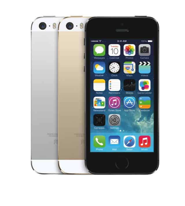 Apple iPhone 5s Gold Silver Black