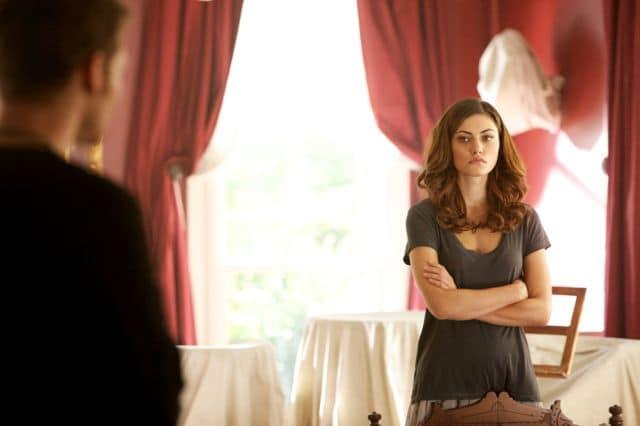 Joseph Morgan as Klaus and Phoebe Tonkin as Hayley The Originals