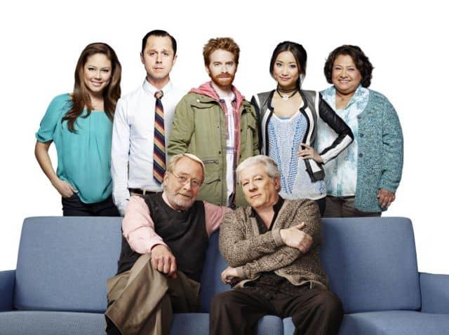 Dads Cast Martin Mull, Giovanni Ribisi, Seth Green, Peter Riegertt, Vanessa Lachey, Brenda Song and Tonita Castro