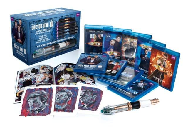 Doctor Who Complete Series Bluray Gift Set