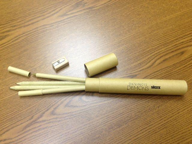 Da Vincis Demons pen pencil set