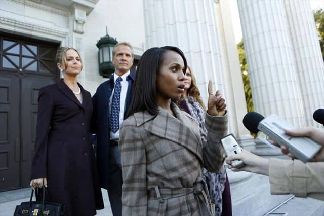 MELORA HARDIN, PATRICK FABIAN, KERRY WASHINGTON, DARBY STANCHFIELD (OBSCURED)