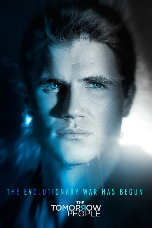 The Tomorrow People Poster Robbie Amell