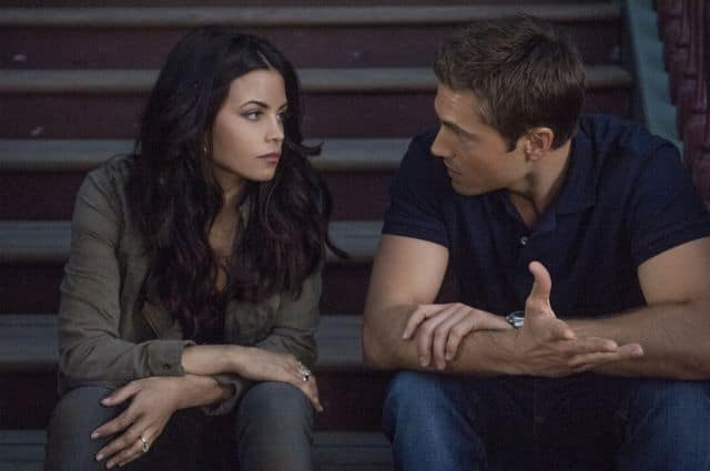 Jenna Dewan Taum and Eric Winter Witches Of East End