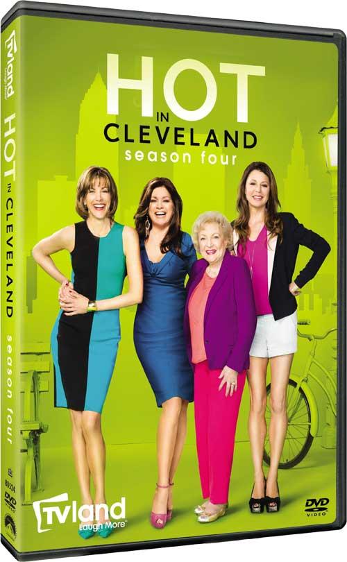 Hot In Cleveland Season 4 DVD