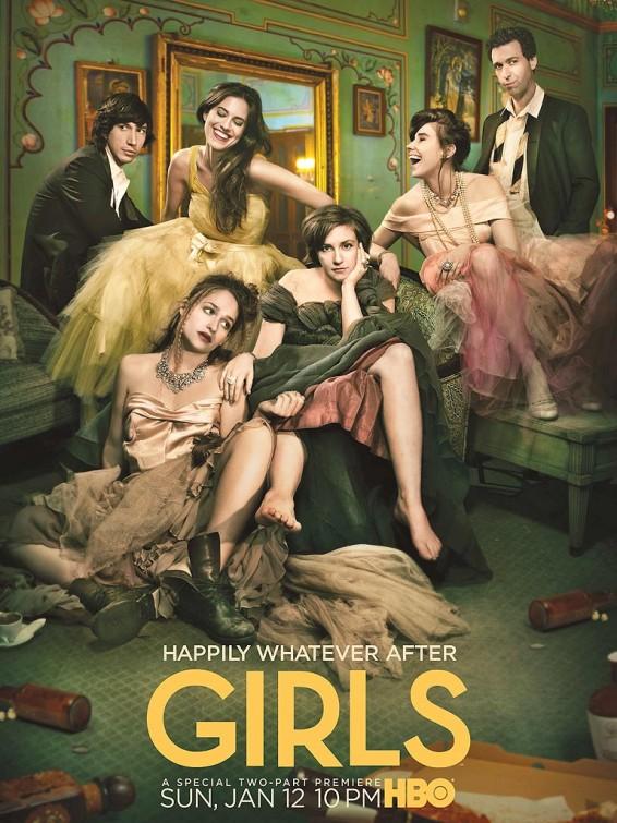 GIRLS Season 3 Poster HBO