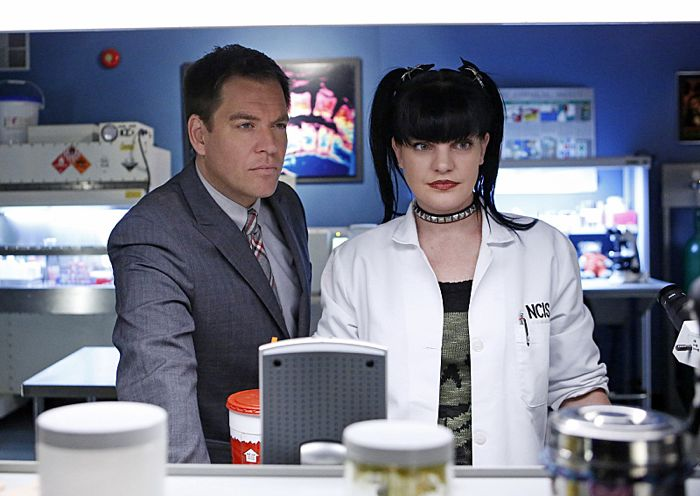 Michael Weatherly and Pauley Perrette NCIS Monsters and Men