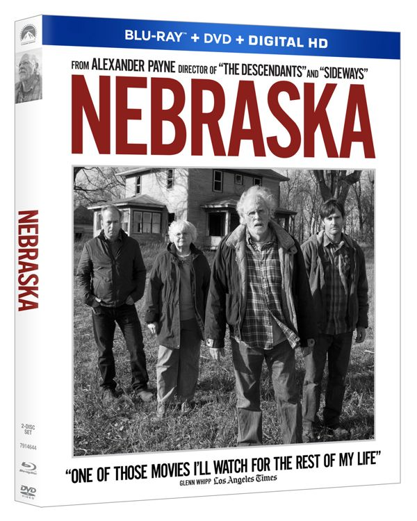 Nebraska Bluray DVD