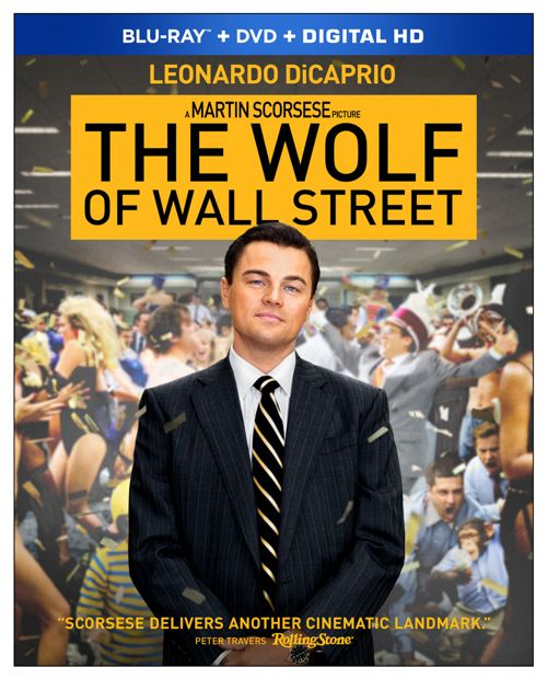 The Wolf Of Wall Street Bluray DVD