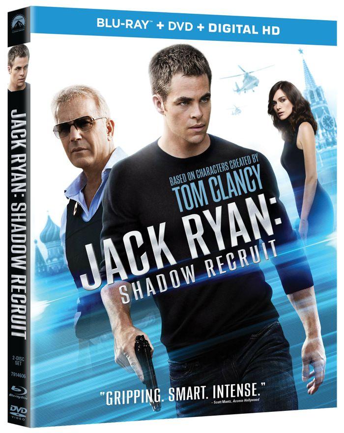 JACK RYAN SHADOW RECRUIT Blu-ray