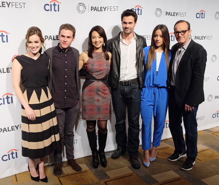 MARVEL'S AGENTS OF SHIELD PaleyFest 2014 03